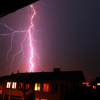 Lightning photography Steinhausen, ZG, Schweiz