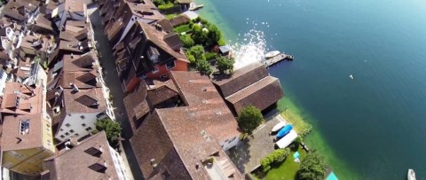Moving a short shot with na DJI Phantom and GoPro Hero3 Black.