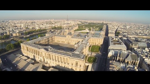 Drone flyining across Europe, captured with a DJI Phantom, GoPro Hero3 Black and a Tarot T-2D gimbal.