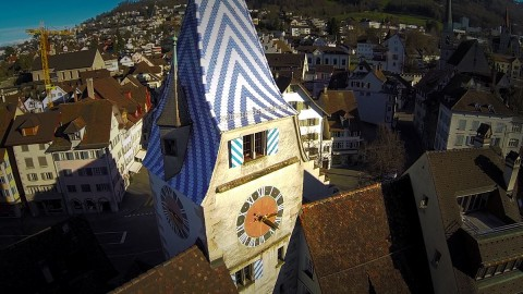 Zug – an aerial view