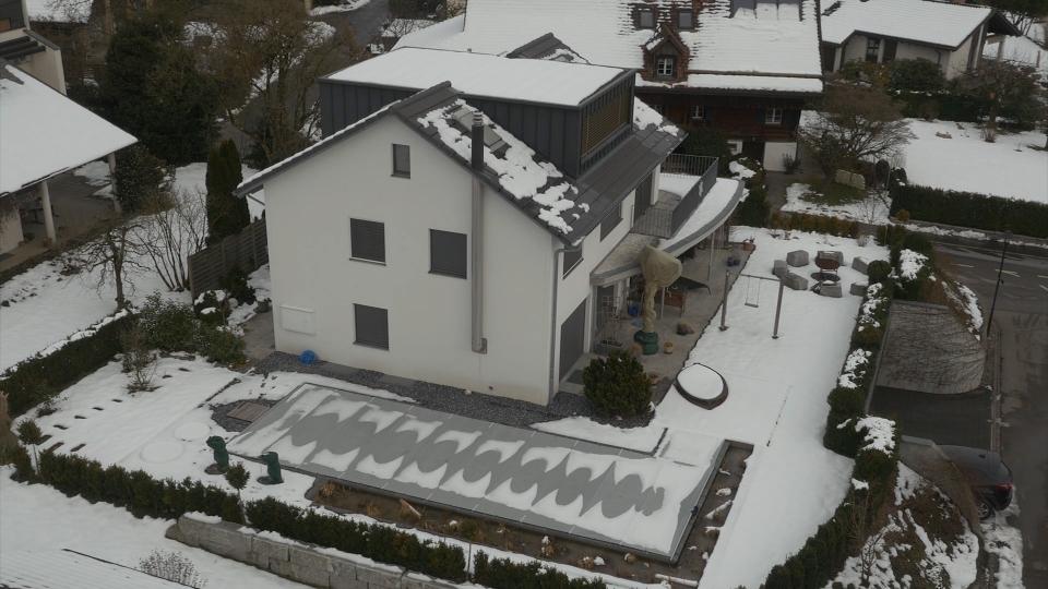 drohnen luftbild einer liegenschaft in steinhausen luftbilder und video mit drohnen in der. Black Bedroom Furniture Sets. Home Design Ideas